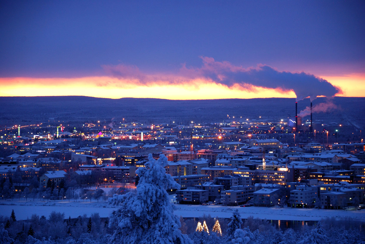 A view over Rovaniemi
