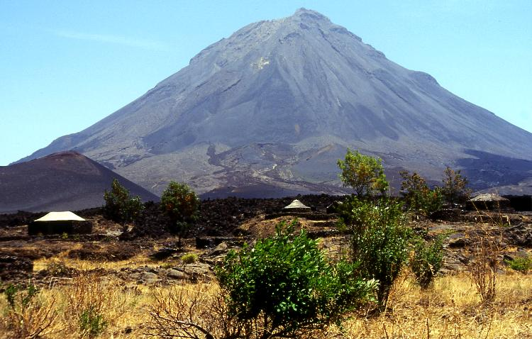 Volcano on Cape Verde